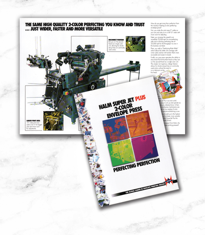 Halm - Product Brochure | Production